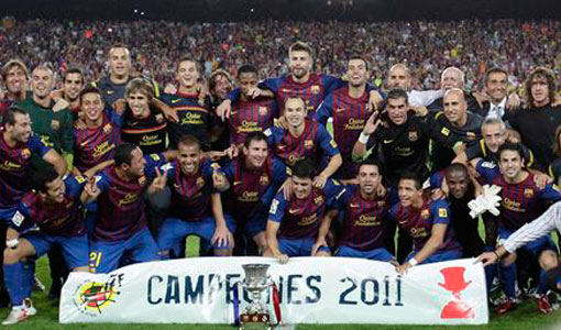 barca campeon supercopa 2011
